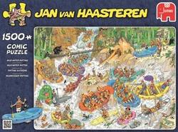 Jan van Haasteren - Wild Water Raften (1500 stukjes)