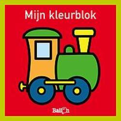 Mijn kleurblok - trein