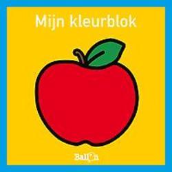 Mijn kleurblok - appel