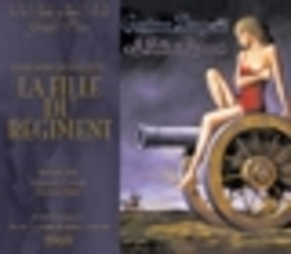 LA FILLE DU REGIMENT (196 SILLS/CORENA/HIRST Audio CD, G. DONIZETTI, CD