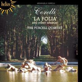 LA FOLIA AND OTHER SONATA PURCELL QUARTET Audio CD, A. CORELLI, CD