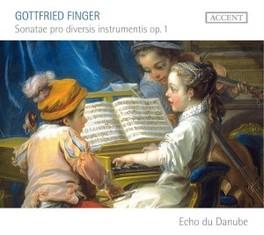 SONATAE PRO DIVERSIS INST ECHO DU DANUBE G. FINGER, CD