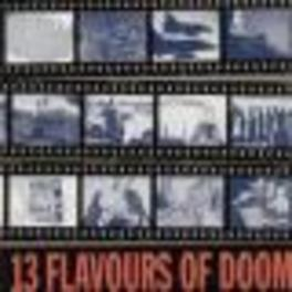13 FLAVOURS OF DOOM CLASSIC PUNK PROD BY JOHN WRIGHT (NOMEANSNO) D.O.A., CD