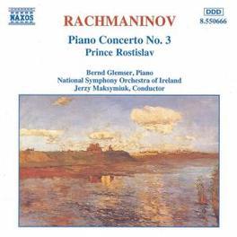 PIANO CONCERTO NO.3 GLEMSER/NSOI/MAKSYMIUK S. RACHMANINOV, CD