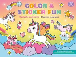 Color & Sticker Fun -...