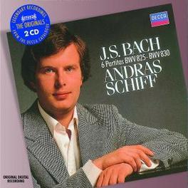 PARTITAS W/ANDRAS SCHIFF Audio CD, J.S. BACH, CD