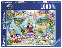 Disney's Wereldkaart (1000...