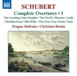 OVERTURES VOL.1 PRAGUE SINFONIA/BENDA Audio CD, F. SCHUBERT, CD
