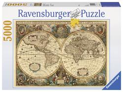 Antieke wereldkaart (5000...