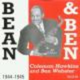 BEAN & BEN *RE-RELEASE* ...WEBSTER Audio CD, HAWKINS, COLEMAN & BEN WE, CD
