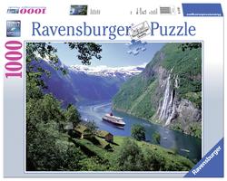 Noors fjord (1000 stukjes)