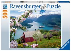 Scandinavische idylle (500 stukjes)