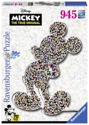 Shaped birthday Mickey (1000 stukjes)