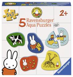 Nijntje aqua kleefpuzzel (5x2 puzzel)