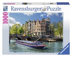 Rondvaart door Amsterdam...