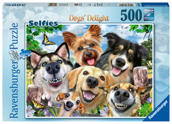Vrolijke honden (500 stukjes)