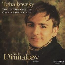 SEASONS, OP... .. 37-BIS/GRAND SONAT//PRIMAKOV, VASSILY Audio CD, P.I. TCHAIKOVSKY, CD