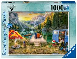 Rustige kampeerplek (1000 stukjes)