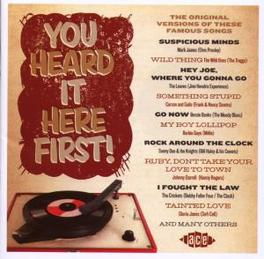 YOU HEARD IT HERE FIRST 26 ORIGINAL VERSIONS OF CLASSICS OF THE 1950S & 1960S Audio CD, V/A, CD