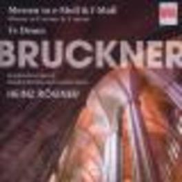 MESSEN UN E-MOLL/F-MOLL, M.HAJOSSYOVA/R.LANG/A.SCHMIDT/P.-J.SCHMIDT Audio CD, A. BRUCKNER, CD