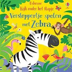 Verstoppertje spelen met Zebra