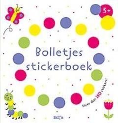 Bolletjesstickerboek titel 1