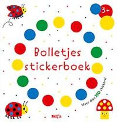 Bolletjesstickerboek titel 2