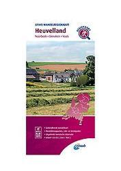 Wandelregiokaart Heuvelland...