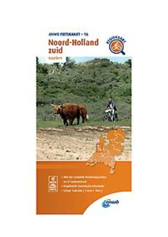 Fietskaart 16 Noord-Holland Zuid (Haarlem). 1:66.666, onb.uitv.