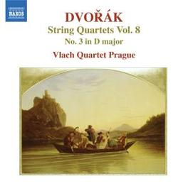STRING QUARTETS VOL.8 VLACH QUARTET PRAGUE Audio CD, A. DVORAK, CD
