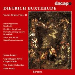 VOCAL MUSIC II DUFAY COLLECTIVE D. BUXTEHUDE, CD