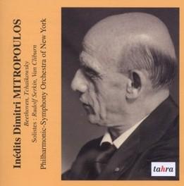 CONCERTOS POUR PIANO RUDOLF SERKIN/VAN CLIBURN/NY P.S.O./MITROPOULOS BEETHOVEN/TCHAIKOVSKY, CD