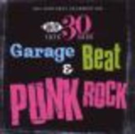 GARAGE BEAT & PUNK ROCK * ACE RECORDS SAMPLER VOLUME 3 * Audio CD, V/A, CD