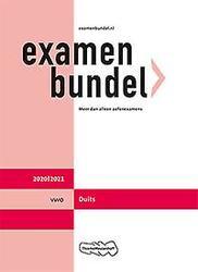 Examenbundel vwo Duits...