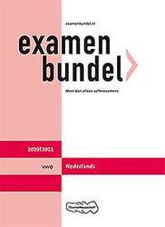 Examenbundel vwo Nederlands...