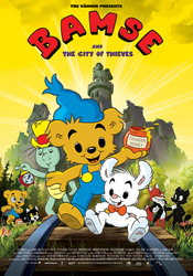 Bamse de beer , (DVD)