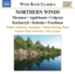 NORTHERN WINDS TORONTO WIND ORCHESTRA/GOMES Audio CD, MESSIAEN/APPLEBAUM, CD
