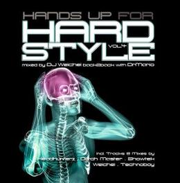 HANDS UP FOR HARDSTYLE 4 W:D4ARK/HEADHUNTERZ/DRAGAN & B-FRONT/HYPERDRIVE/& MORE Audio CD, V/A, CD