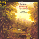 SIX QUARTETTE CONCERTANTE ...FOR OBOE & STRING TRIO OP.7/W/SARAH FRANCIS, TAGORE