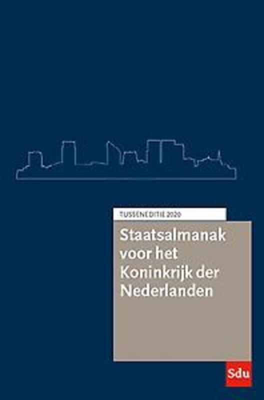 Staatsalmanak Koninkrijk der Nederlanden. Tusseneditie 2020.. Tusseneditie 2020, Almanakken, Paperback