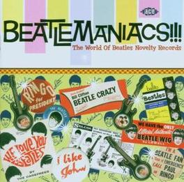 BEATLEMANIACS WORLD OF BEATLES NOVELTY RECORDS Audio CD, BEATLES.*TRIBUTE*, CD