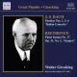 GREAT PIANIST:GIESEKING GIESEKING, WALTER Audio CD, BACH/BEETHOVEN, CD
