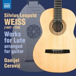 WORKS FOR LUTE, ARRANGED...