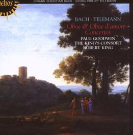 OBOE & OBOE D'AMORE CONCE KING'S CONSORT/GOODWIN Audio CD, BACH/TELEMANN, CD