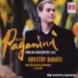 VIOLINKONZERTE 1 & 2 KRISTOF BARATI Audio CD, N. PAGANINI, CD
