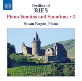 PIANO SONATAS & SONATINAS KAGAN Audio CD, F. RIES, CD