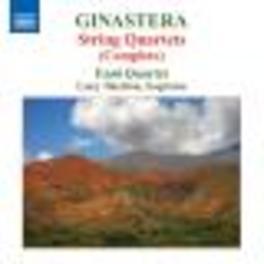 STRING QUARTETS ENSO QUARTET/SHELTON Audio CD, A. GINASTERA, CD