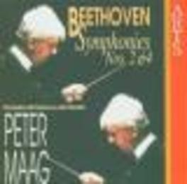 SYMPHONY NO.2 & 4 ODPV/MAAG Audio CD, L. VAN BEETHOVEN, CD