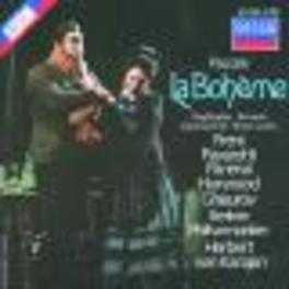 LA BOHEME QUERSCHNITT FRENIPAVAROTTIBPKARAJAN Audio CD, G. PUCCINI, CD
