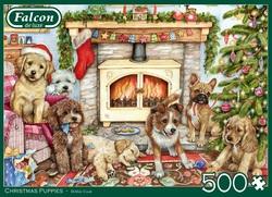 Falcon Christmas Puppies (500 stukjes)